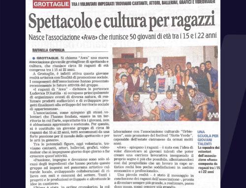 """""""Spettacolo e cultura per ragazzi"""" – l'articolo de La Gazzetta del Mezzogiorno su AWA"""